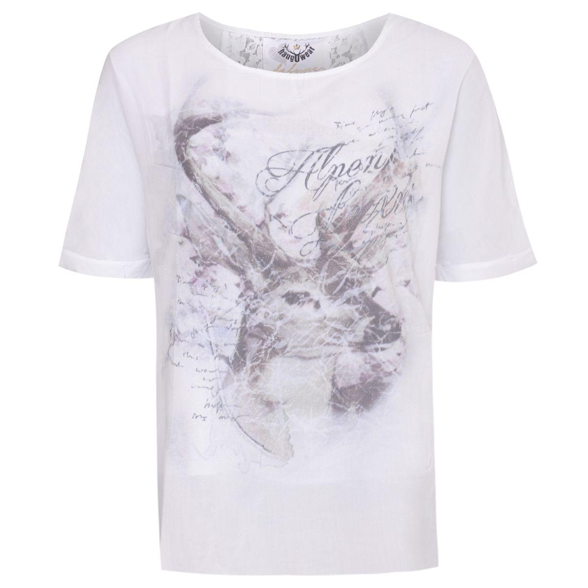 Trachtenshirt Berit in Weiß von Hangowear günstig online kaufen