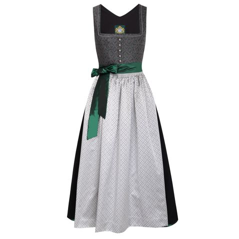 Langes Dirndl Brunnsee in Anthrazit von Hammerschmid