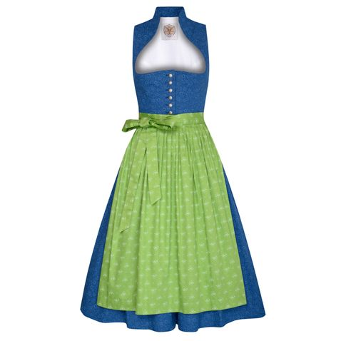 Midi Dirndl Hannerl in Dunkelblau von Apple of my Eye
