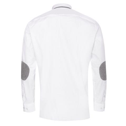 Trachtenhemd Sebastian Slim Fit mit Biesen in Weiß von Hammerschmid