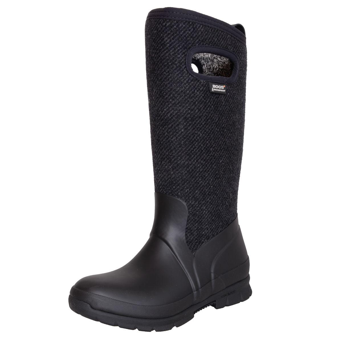 Gefütterter Herbst / Winter Stiefel in Schwarz von BOGS günstig online kaufen