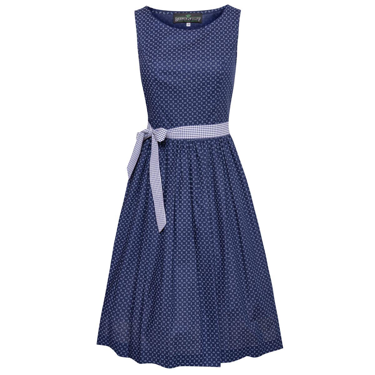 Kleid Antonia in Blau von Berwin und Wolff günstig online kaufen