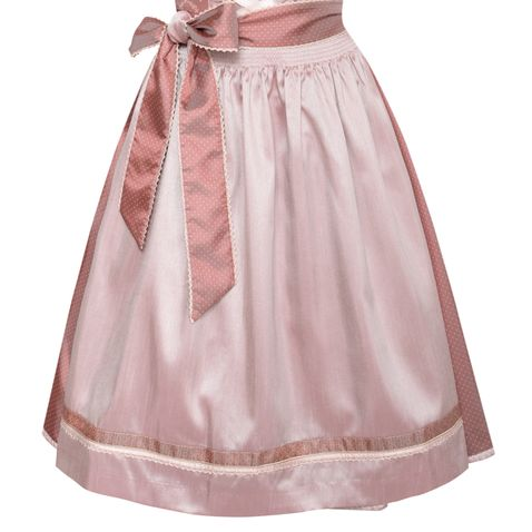 Midi Dirndl Ilona in Altrosa von Krüger Collection