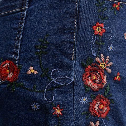 kurze Jeansshort Liliane in Blau von Country Line