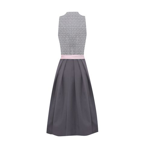 Midi Dirndl Mareen in Grau von Country Line