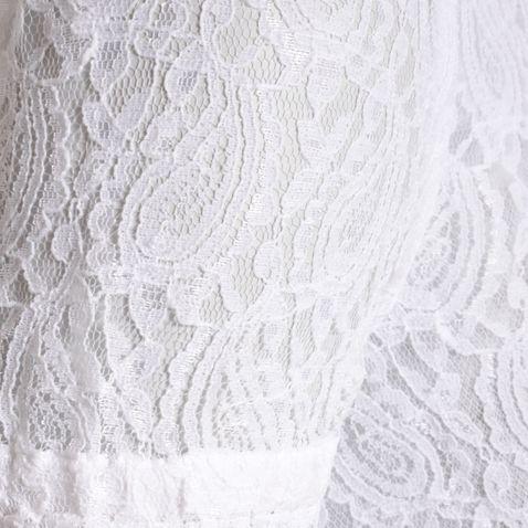 Dirndlbluse Berta-Alia in Weiß von Marjo Trachten