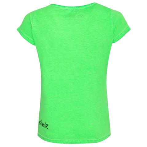 Trachtenshirt Macy in Neongrün von Hangowear