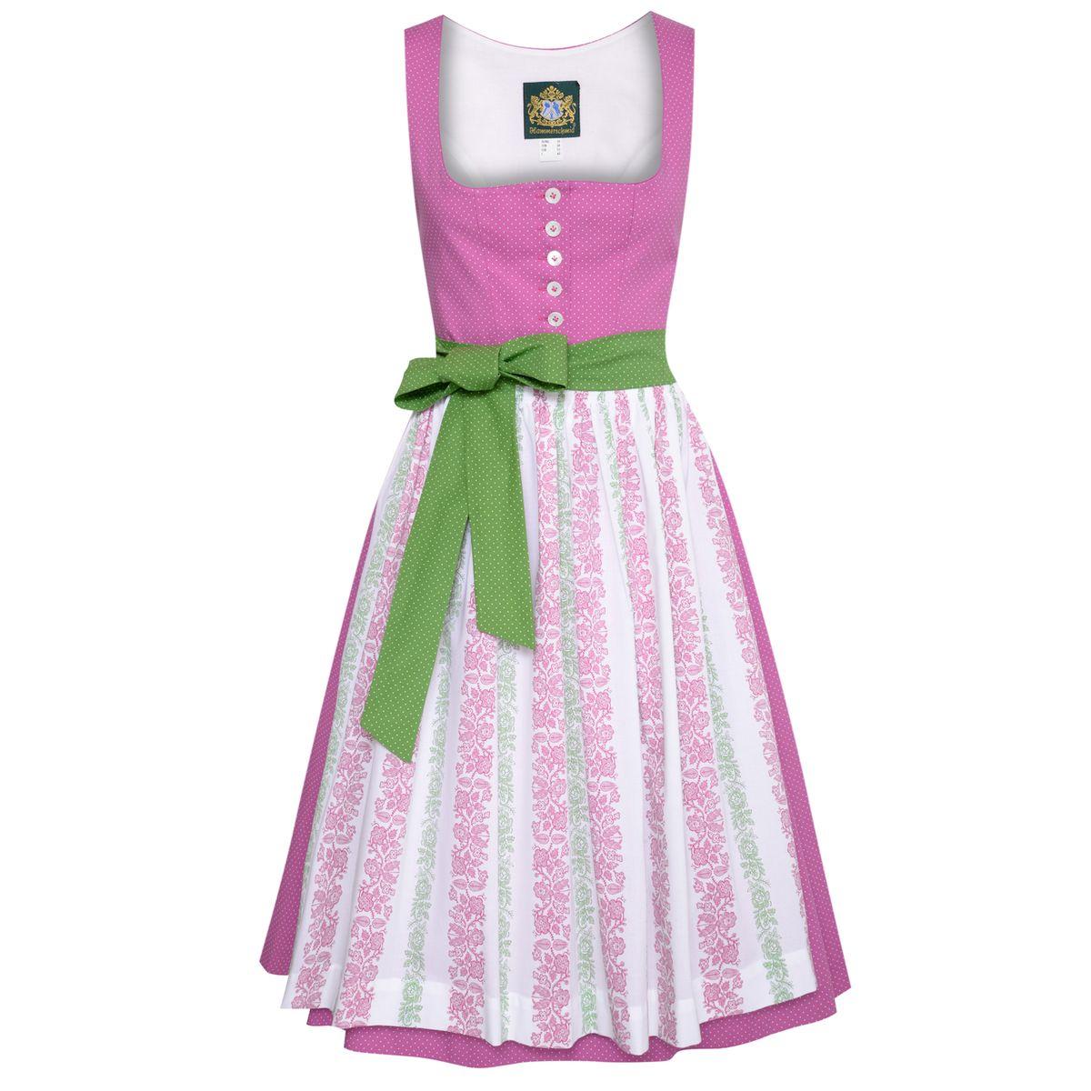 Midi Dirndl Pillersee in Pink von Hammerschmid günstig online kaufen