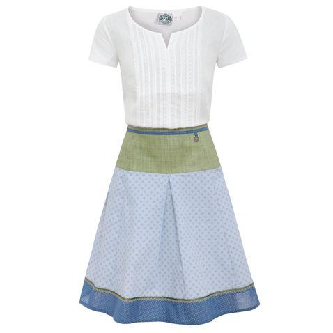 Trachten Outfit in Weiß/Hellblau von Hammerschmid