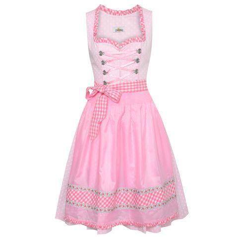 Midi Dirndl Katrin in Pink von Almsach