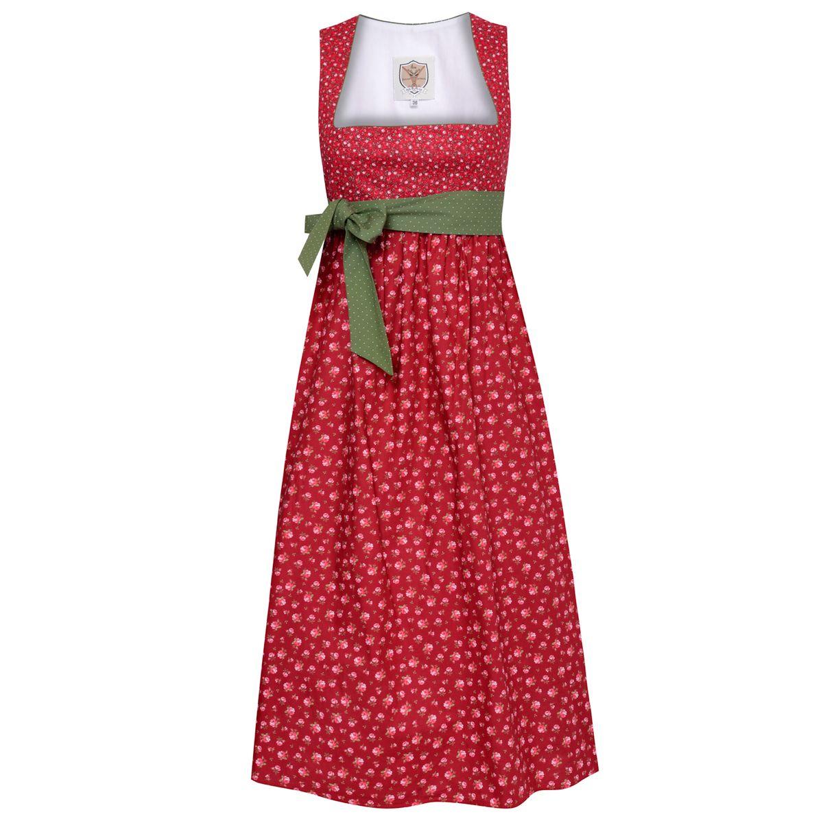 Umstandsdirndl Hochzeitsdirndl Nina in Rot von Apple of my Eye günstig online kaufen