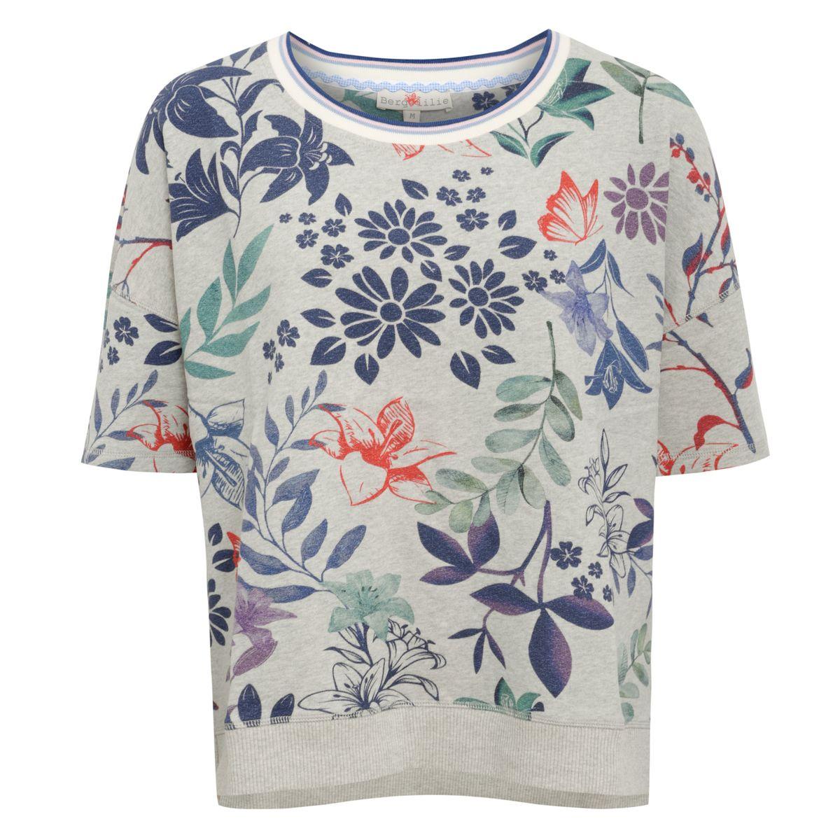 Pullover Annemarie in Hellgrau von Berglilie günstig online kaufen