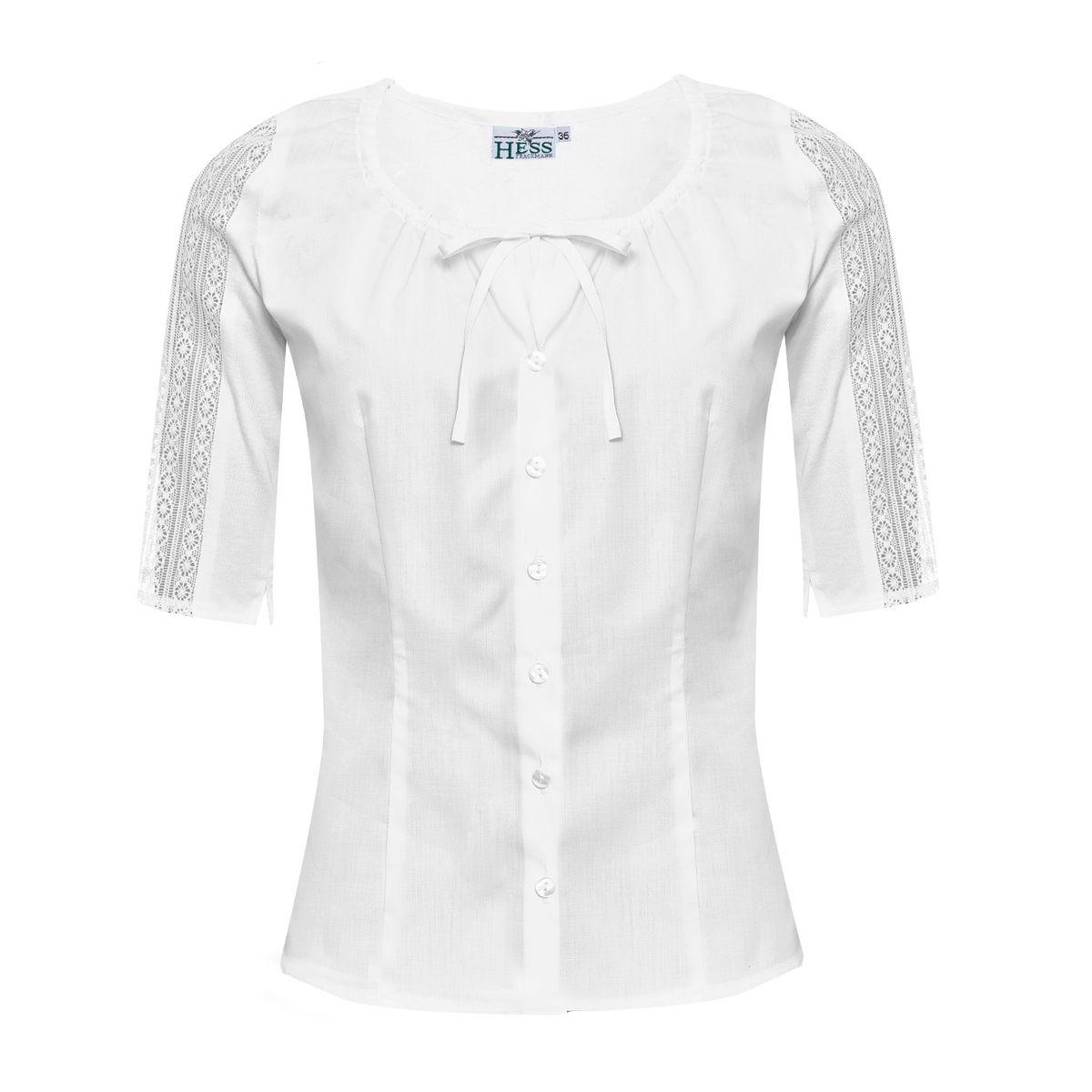 Trachtenbluse Vroni in Weiß von Hess günstig online kaufen