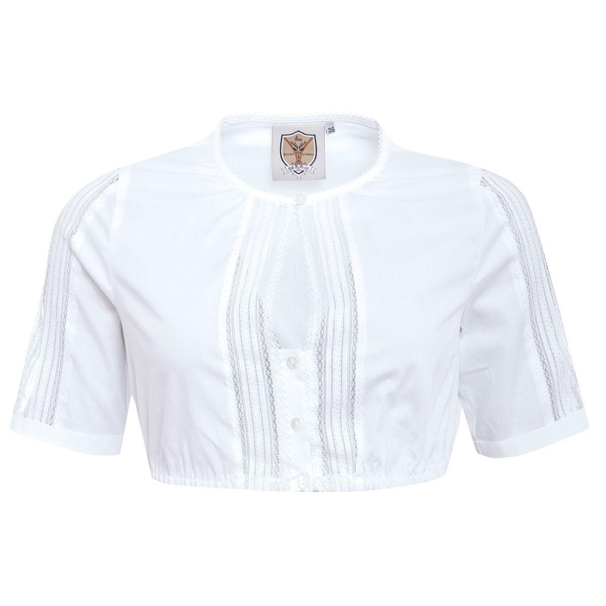 Dirndlbluse Marga in Weiß von Apple of my Eye günstig online kaufen