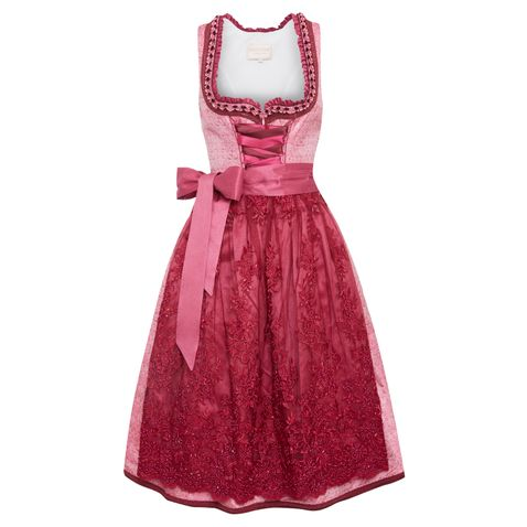Midi Dirndl Mitzi in Pink von Krüger Collection