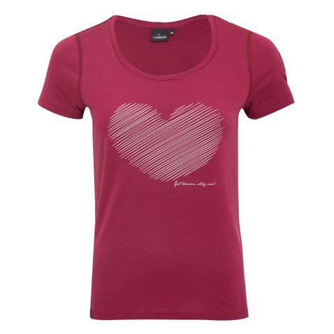 T-Shirt Meja in Lila von Ivanhoe