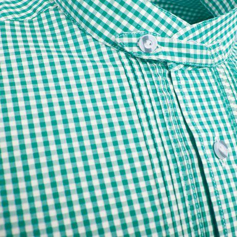 Trachtenhemd Tobias Regular Fit in Dunkelgrün von Almsach