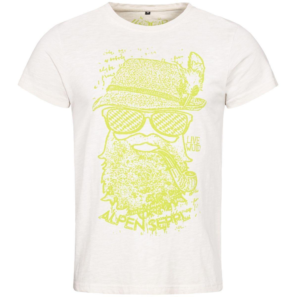 Trachtenshirt Roland in Weiß von Hangowear günstig online kaufen