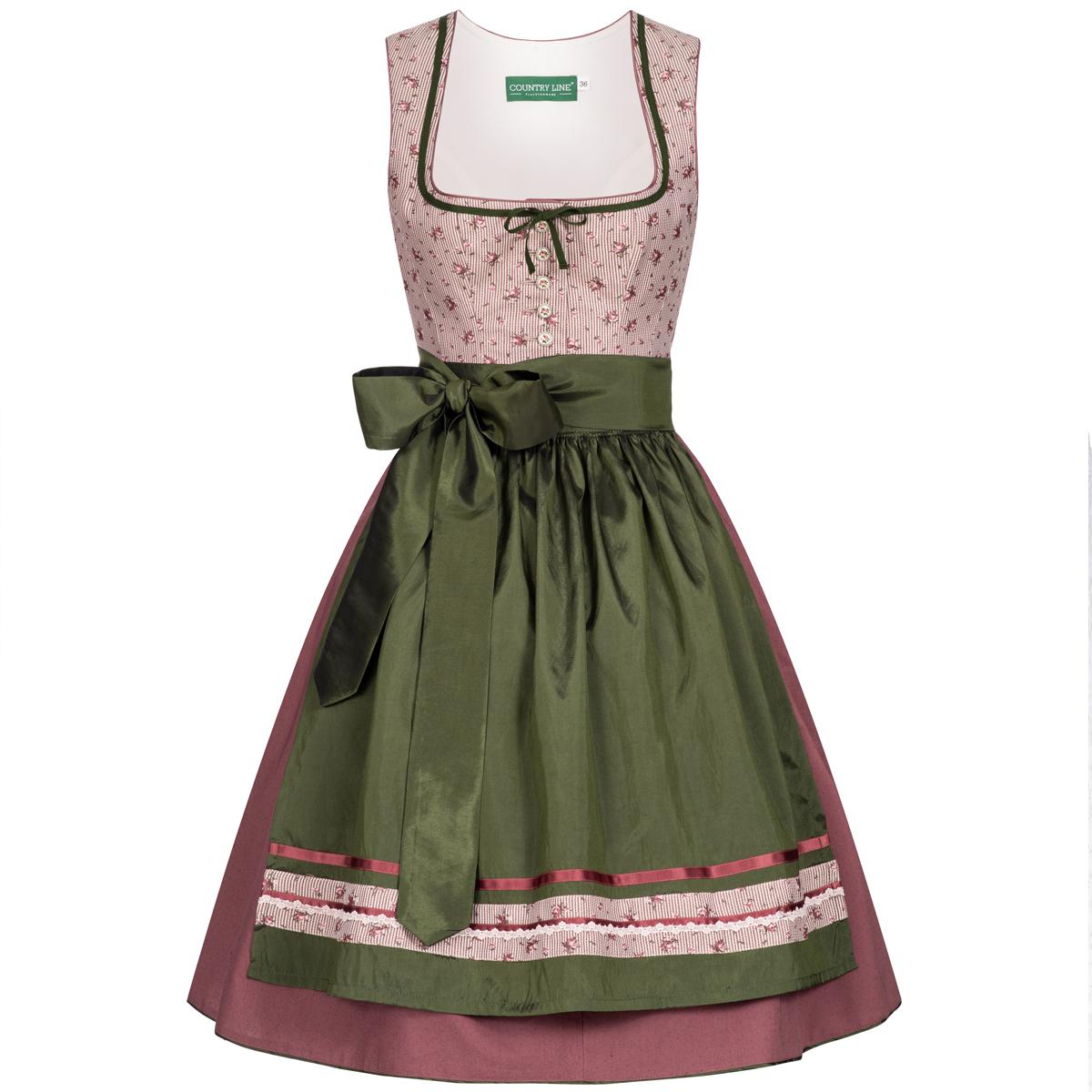 Midi Dirndl Katha in Rose von Country Line günstig online kaufen