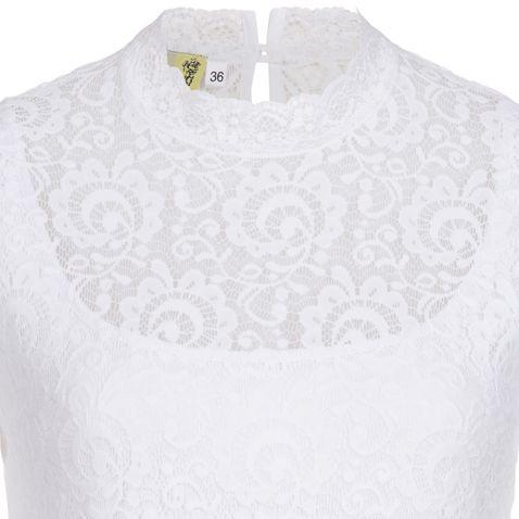 Blusenbody Inge in Weiß von Tramontana