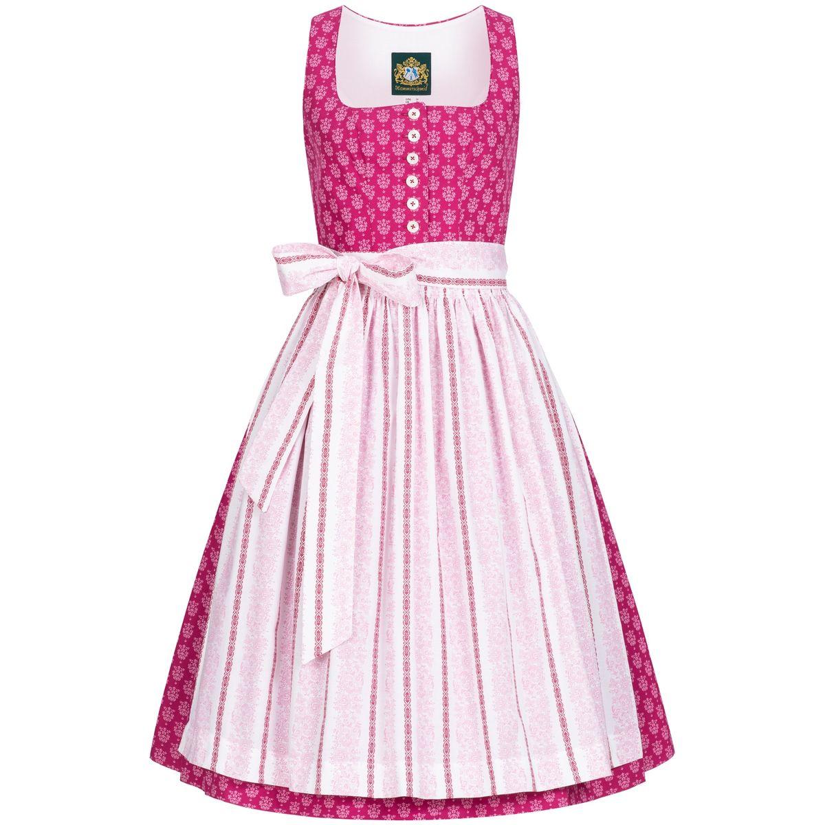 Midi Dirndl Chiemsee in Pink von Hammerschmid günstig online kaufen