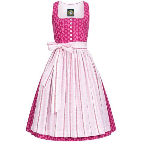 Midi Dirndl Chiemsee in Pink von Hammerschmid
