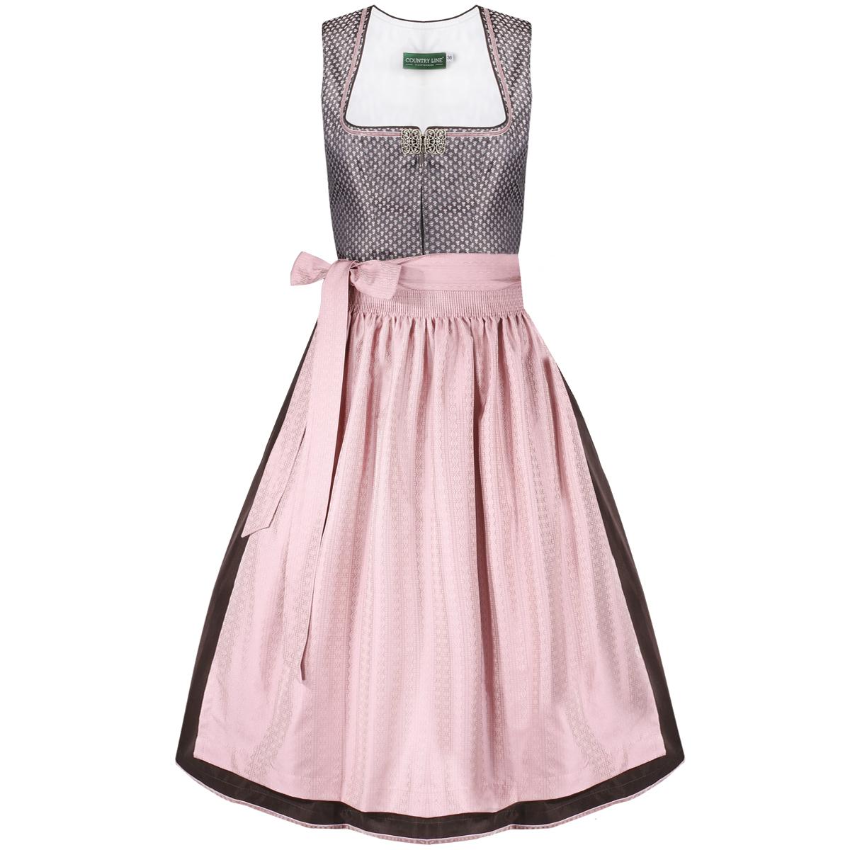 Midi Dirndl Ella in Rosé von Country Line günstig online kaufen