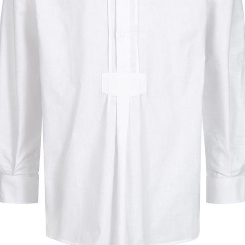 Trachtenhemd Maxl Regular Fit mit Riegel in Weiß von Schweighart