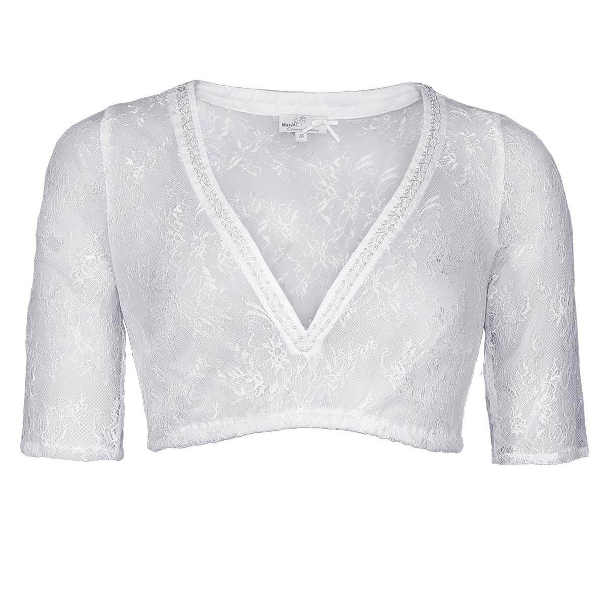 Dirndlbluse Ciara-Vida in Weiß von Marjo Trachten günstig online kaufen