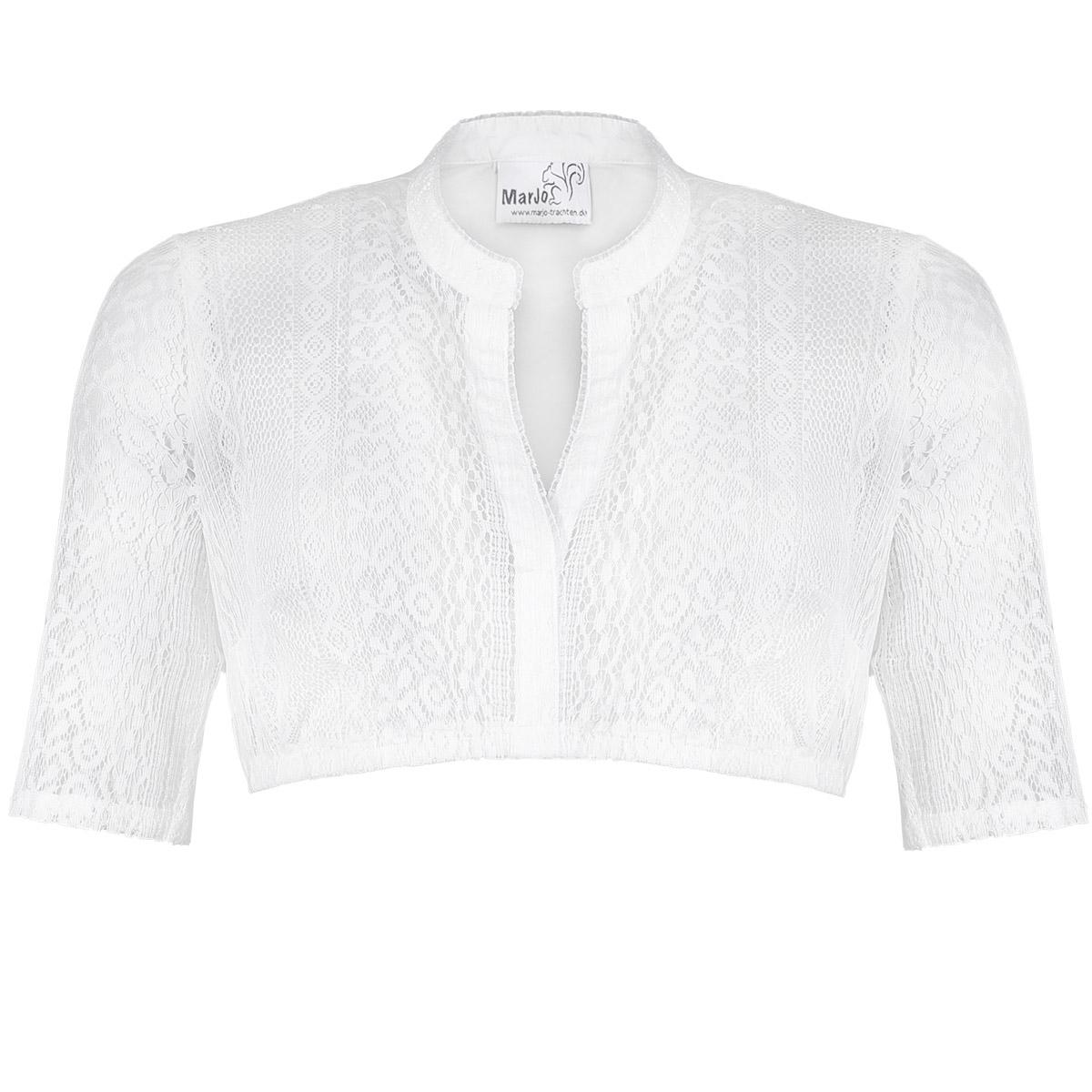Dirndlbluse Fabienne-Linda in Off-white von Marjo Trachten günstig online kaufen