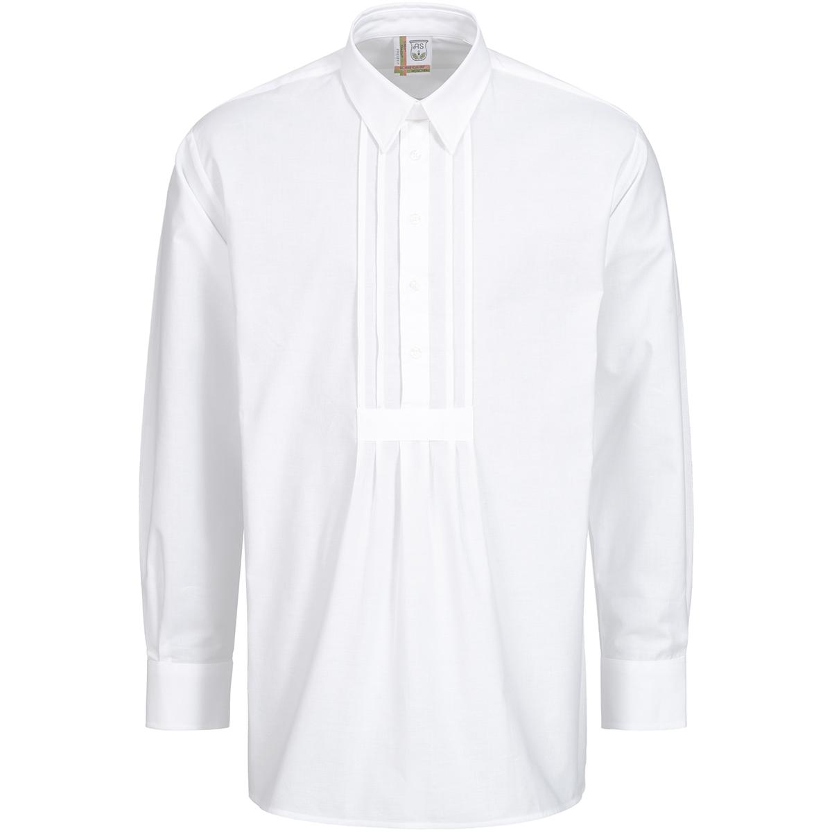 Trachtenhemd Peter Regular Fit mit Riegel in Weiß von Schweighart günstig online kaufen