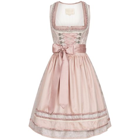 Midi Dirndl Anna in Rose von Krüger Collection