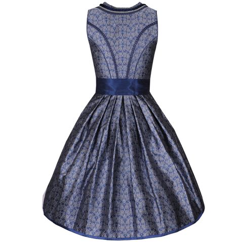 Midi Dirndl Vanessa in Blau von Krüger Collection