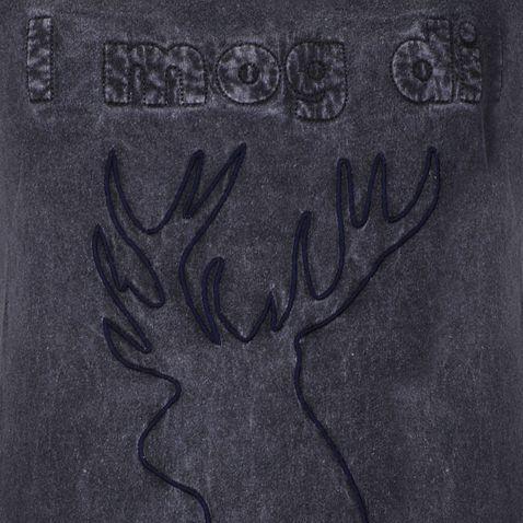 Trachtenshirt in Grau von Almsach