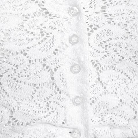 Dirndlbluse Gerlinde in Weiß von Hammerschmid