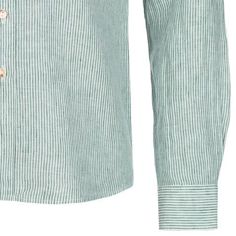 Trachtenhemd Georg Slim Fit in Grün von Almsach