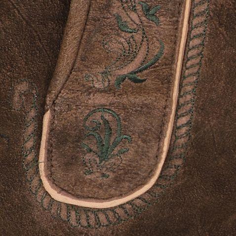 kurze Lederhose Kempten in Braun von Hammerschmid
