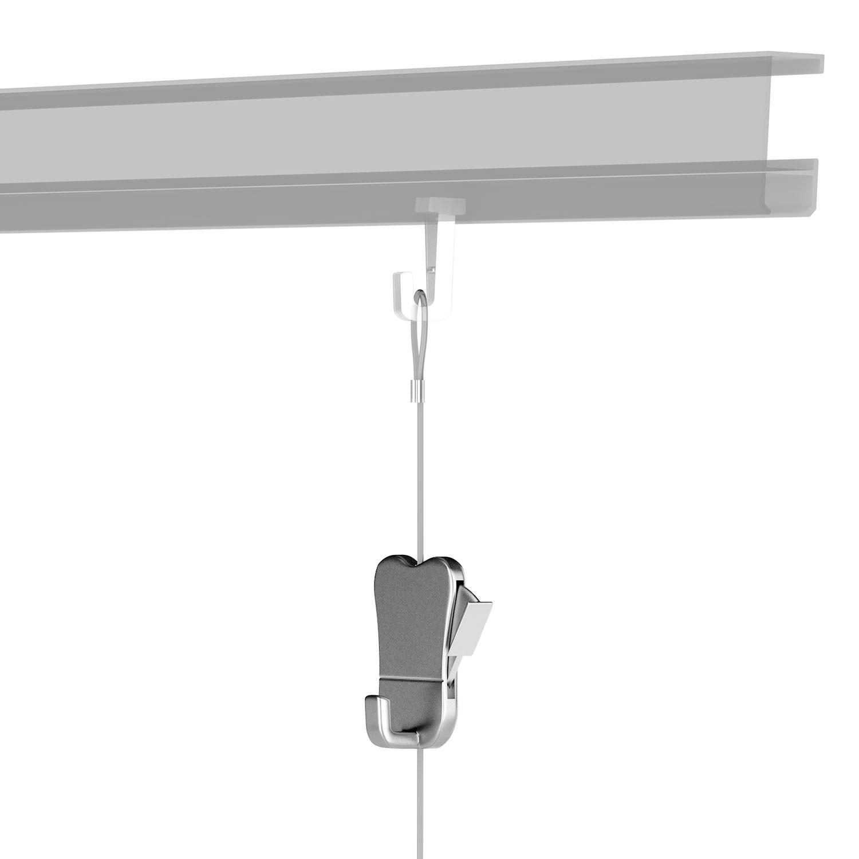 bilderhaken zipper der komfortable haken f r schwere bilder. Black Bedroom Furniture Sets. Home Design Ideas