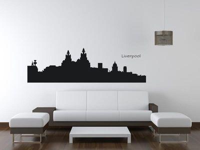 Wandtattoo Wandaufkleber Liverpool
