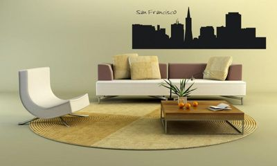 Wandtattoo Wandaufkleber San Francisco – Bild 1