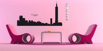 Wandtattoo Wandaufkleber Taipei – Bild 1