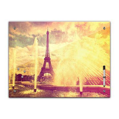 Memoboard - Paris Eiffelturm Retro – Bild 2