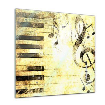 Memoboard - Interieur - Musik Grunge - 40x40 cm – Bild 1