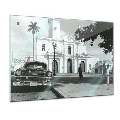 Memoboard - Männermotive - Chevrolet in Kuba – Bild 1