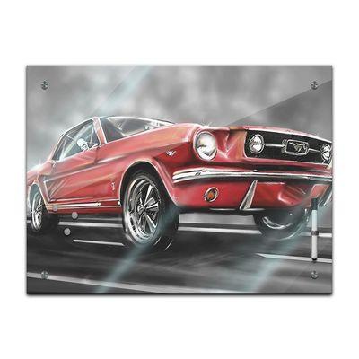 Memoboard - Männermotive - Mustang Graphic – Bild 2