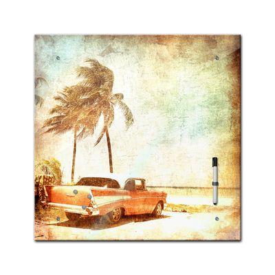 Memoboard - Männermotive - Beach - 40x40 cm – Bild 2