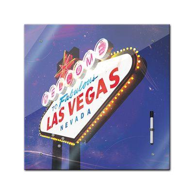 Memoboard - Männermotive - Las Vegas - 40x40 cm – Bild 2