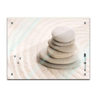 Memoboard - Geist & Seele - Zen Steine VIII – Bild 2