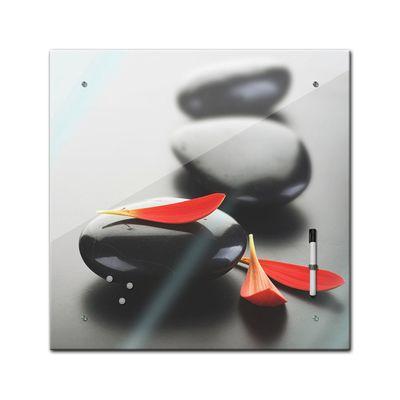 Memoboard - Geist & Seele - Zen Stein XIV - 40x40 cm – Bild 2