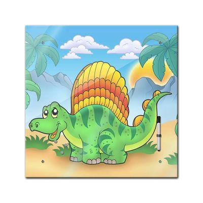 Memoboard - Kinder - Kleiner Dinosaurier - 40x40 cm – Bild 2